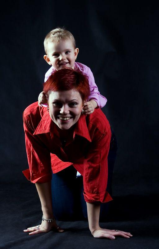 Bětka s mamkou